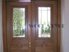 Дубовая входная дверь 05